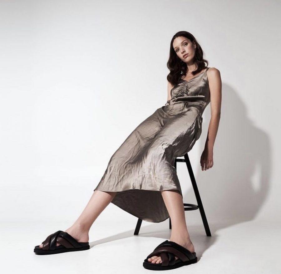Senior Savannah Pritchett models worldwide