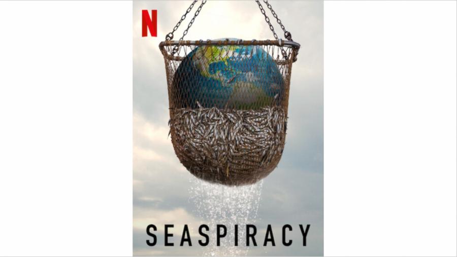 Seaspiracy Movie Poster; Photo Courtesy of Netflix