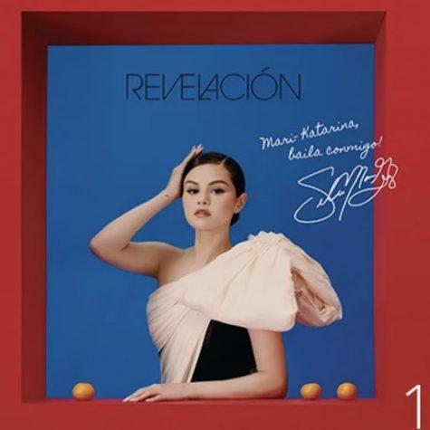 La atrevida portada del álbum Revelación de Selena Gomez prepara al oyente para la nueva y atrevida música que contiene. // The daring cover of Selena Gomez's Revelacion album prepares the listener for the new, bold music that it holds. (courtesy image of: pinterest)