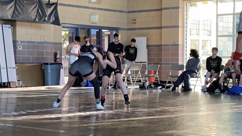 Redwood girls wrestling pins down stereotypes