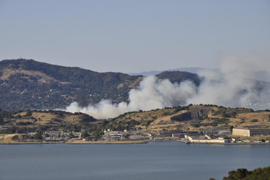 Raging across the San Rafael brush, a new blaze becomes one of the many opening flames of California's 2021 fire season.