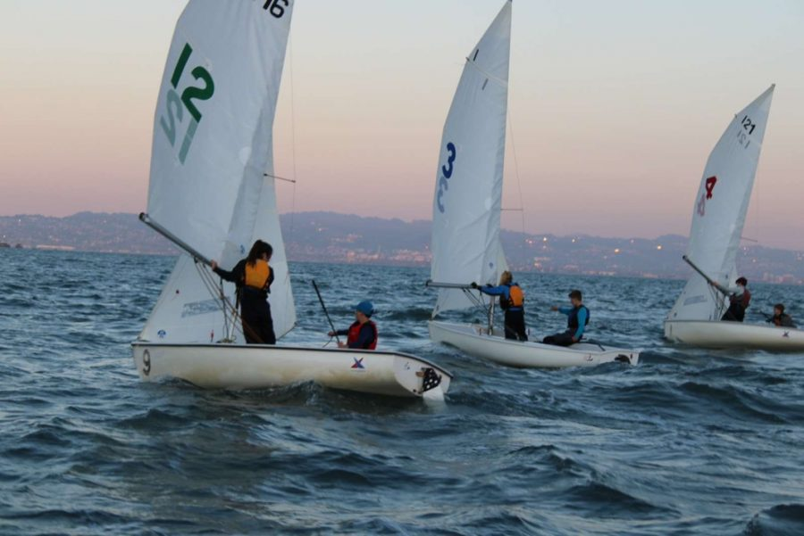Sailing team rejoices as practices start again
