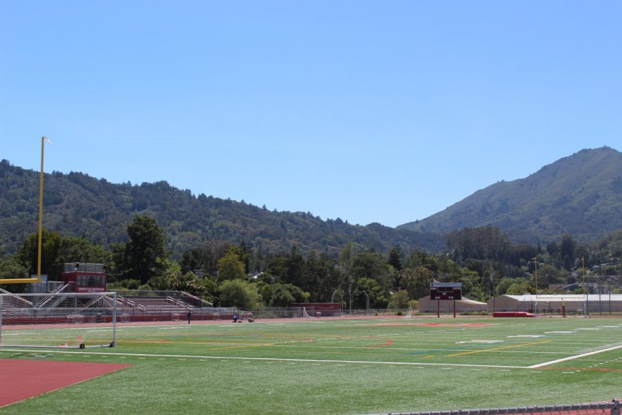 Logistically, the Redwood football field is as good a place as any for graduation; however, it lacks the history and symbolism of the amphitheater.