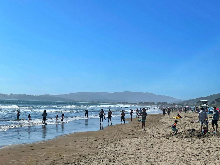 As Covid-19 restrictions decrease, friends and families plan trips to Stinson Beach just in time for summer.