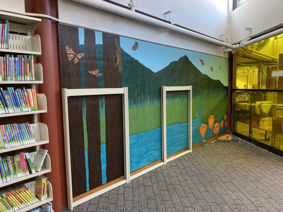 AP art students feature Marin's landscape in a Corte Madera Library mural