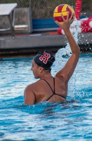 Gwen Kallmeyer splashes into her senior year