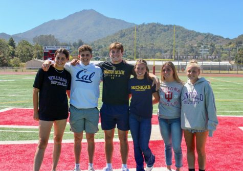 Working hard helped these six athletes reach their college aspirations.