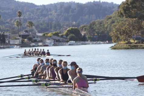 Rowing against the current: MRA athletes experience stress leading up to their first race